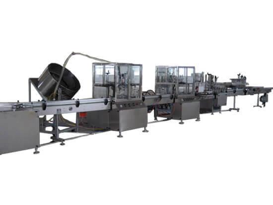 foam cleaner filling equipment
